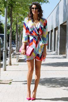 Farabian: Imperial Dress & Louboutin Cyclamen