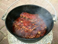 Spare Ribs aus dem Dutch Oven