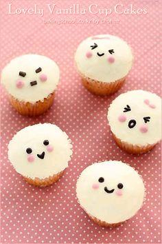 Lovely vanilla cupcake  깜찍하고 귀여운 <러블리 바닐라 컵케이크> | 마이클럽