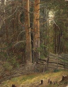 Adolph Tidemand - Skovinteriör. 1869. jpg (796×1019) National Museum, Contemporary Paintings, Landscape Art, Art Museum, Norway, Serenity, Paths, 19th Century, Mandala