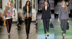 Fashion Trousers Autumn-Winter 2014-2015: Cut Down Trousers