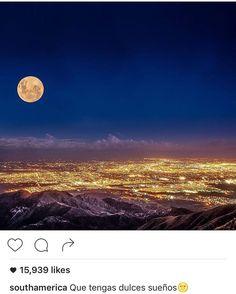 La foto de @mdzphoto fue elegida para ilustrar a Mendoza y compartida por @southamerica superó los 15000 likes