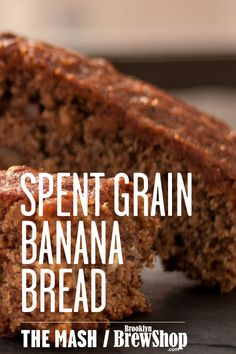Made with two ripe bananas and a healthy amount of Spent Grain Flour, our Spent Grain Banana Bread is hearty and delicious.