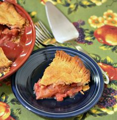 Pink Lady Pie made with pink lady apples and fresh cranberries and raspberries.