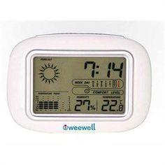 Weewell WHM120 Higro Termometre T Box Havlu Hediyeli