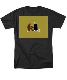 The Bear Play, Black Image, Things That Bounce, Beer, Stylish, Mens Tops, T Shirt, Women, Root Beer
