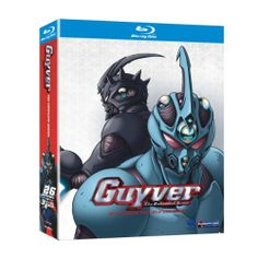 Guyver: The Complete Series on Blu-ray from Funimation. More Anime, International and Action DVDs available @ DVD Empire. Sci Fi Anime, Anime Dvd, Mecha Anime, All Anime, Japanese Video Games, Comic Art, Comic Books, Steampunk, Science Fiction Art