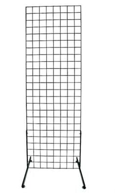 Black Retail Standing Grid Screens - 6