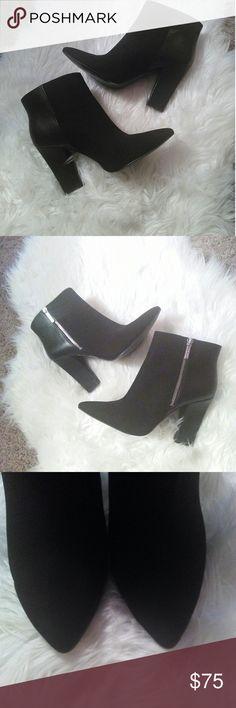 "Nine West black Ankle booties sz 10 Nine West black ankle booties sz 10 Worn 1x In great condition 4"" heel Nine West Shoes Ankle Boots & Booties"