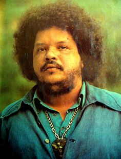 Tim Maia a singer/songwriter who is credited with bringin SOUL Music to Brazilian Popular Music. A film about his life was released in 2015 starring actor Babu Santana as the adult Maia. Rock And Roll, Brazil Music, Tim Maia, Jorge Ben, Music Icon, Art Music, World Music, Popular Music, Samba
