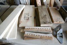 Reclaimed+wood+/+Make+a+stepladder+side+table+via+FunkyJunkInteriors.net