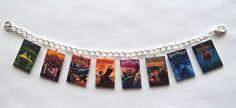 Harry Potter Book Cover Charm Bracelet  Voldemort  by Murals4U, $14.99