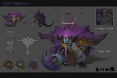 ArtStation - Crab Engineer, Hao Z