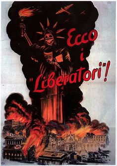 """""""Here are the liberators"""" Denouncing Allied bombings of Italian cities. Italy 1943-1944"""