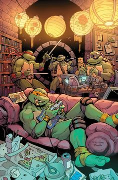TMNT by Tess Fowler