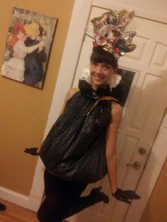 1000 Images About Halloween Decorations Out Of Trash Bags