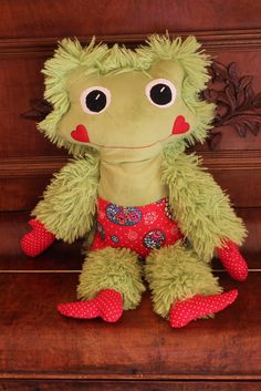 Handmade by Alpenkatzen Teddy Bear, Toys, Handmade, Animals, Stuffed Toys, Cuddling, Cushion, Activity Toys, Animaux
