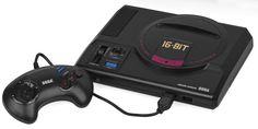 Sega Mega Drive...3rd console I got. Brings back gaming memories.