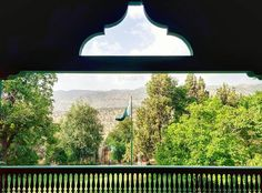 A view of the hills from the balcony of Quaid-e-Azam residence near #Ziarat, #Quetta #Balochistan!