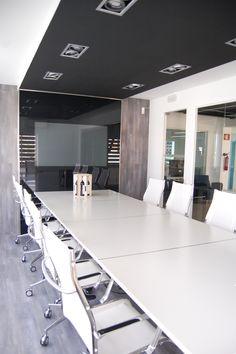 Interior Design   Sala de reuniões   Escritórios Underline Concept