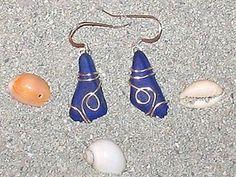 Beautiful Genuine sea glass jewelry, Beach Glass jewelry and ...