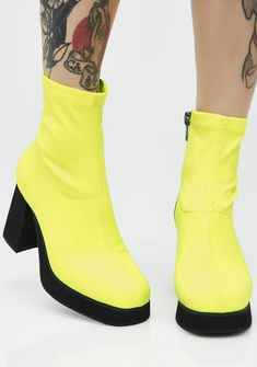 41dabc4cb63e Current Mood Neon Tension Boots cuz bb you can feel all the tension from yo  haters