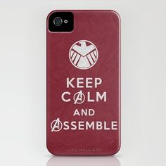 Keep Calm - Avengers Poster 01 iPhone Case by Misery - $35.00