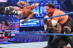 R-Truth's United States Championship Open Challenge results in a wild Fatal Match involving Rey Mysterio, Samoa Joe and Andrade all vying for the coveted title. R Truth, Wrestling News, Professional Wrestling, Wwe, Superstar, Challenges, Sports, Photos, Lucha Libre