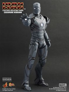 Hot Toys MMS 101 Iron Man – Mark III Gunmetal – Hot Toys Complete Checklist