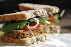 Čočková sekaná • Pro Dobroty Sandwiches, Food, Essen, Meals, Paninis, Yemek, Eten