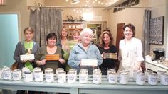 Feb 2012, a great group of creative ladies!