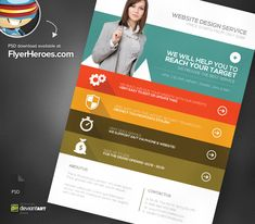 flyer design website web design agency psd flyer template flyertemplates on deviantart ideas Design Websites, Website Design Services, Web Design Agency, Flyer Design, Website Price, Website Web, Design Digital, Psd Flyer Templates, Corporate Identity