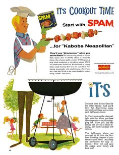 Hope you're enjoying the SPAM kabobs today, America