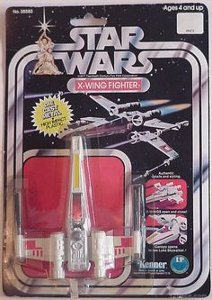 Star Wars Die-Cast X-Wing Fighter, from Kenner