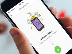 앱 화면의 빈 공간을 똑똑하게 디자인한 사례 21가지 - Wishket