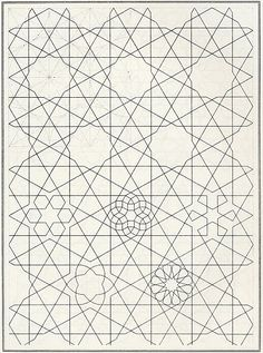 Pattern in Islamic Art - BOU 089 tiles tiling turning any geometry into metamophosis Graphic Patterns, Tile Patterns, Pattern Art, Textures Patterns, Pattern Design, Print Patterns, Islamic Art Pattern, Arabic Pattern, Geometry Pattern