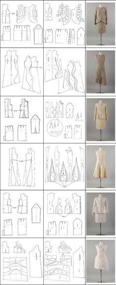 more dart manipulation bodice pattern making patternmaking for fashion design how to draft sewing patterns pattern fitting how to design sewing patterns - PIPicStats Diy Clothing, Sewing Clothes, Clothing Patterns, Dress Patterns, Sewing Patterns, Techniques Couture, Sewing Techniques, Pattern Cutting, Pattern Making