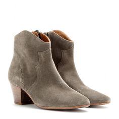 mytheresa.com - Bottines en daim Dicker - Talons moyens - Bottines - Chaussures - Luxe et Mode pour femme - Vêtements, chaussures et sacs de créateurs internationaux