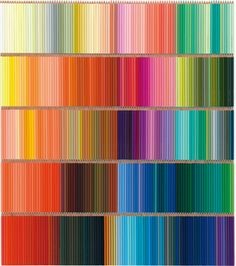 500 colors of colored pencils