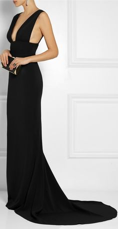 STELLA MCCARTNEY | Kimberly Stretch-cady Gown