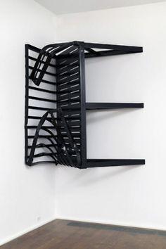 """Minimal Myth"" at Boijmans Van Beuningen Monica Sosnowska Abstract Sculpture, Sculpture Art, Sculptures, Abstract Art, Contemporary Art Daily, Contemporary Ceramics, Monika Sosnowska, Artistic Installation, Minimalist Interior"