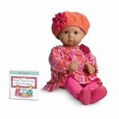 """American Girl Bitty Baby or Twin Plaid Play Outfit for 16"""" Doll [DOLL IS NOT INCLUDED] by American Girl. $32.99. Plaid Play Outfit for Dolls + Book Item# V5957 Your little mommy can dress her doll for a trip to the playground. This outfit."""