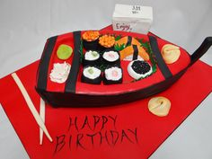 Sushi Cake - Yahoo Image Search Results Sushi Cake, Birthday Cake, Image Search, Desserts, Food, Tailgate Desserts, Deserts, Birthday Cakes, Essen