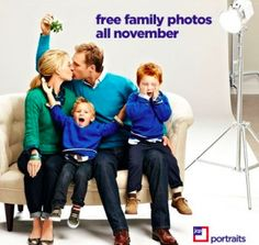 Free jcpenney 8x10 family portrait
