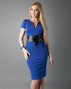 Setin Solid Color Dress Made In Europe