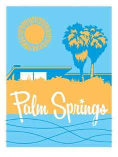 posters Palm Springs life covers vintage - Google Search