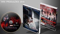 W50 produções mp3: Capitão América - Guerra Civil - Lançamento 2016