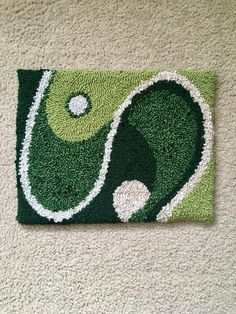 Funky Rugs, Cool Rugs, Earthship Home, Cute Room Decor, Aesthetic Room Decor, Room Ideas Bedroom, Punch Needle, My New Room, Rug Hooking