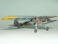 Fieseler Fi 156C Storch Hasegawa's 1/32 scale By Patrick Chung