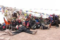 Under the prayer flags, we are grateful to have You to keep us safe.